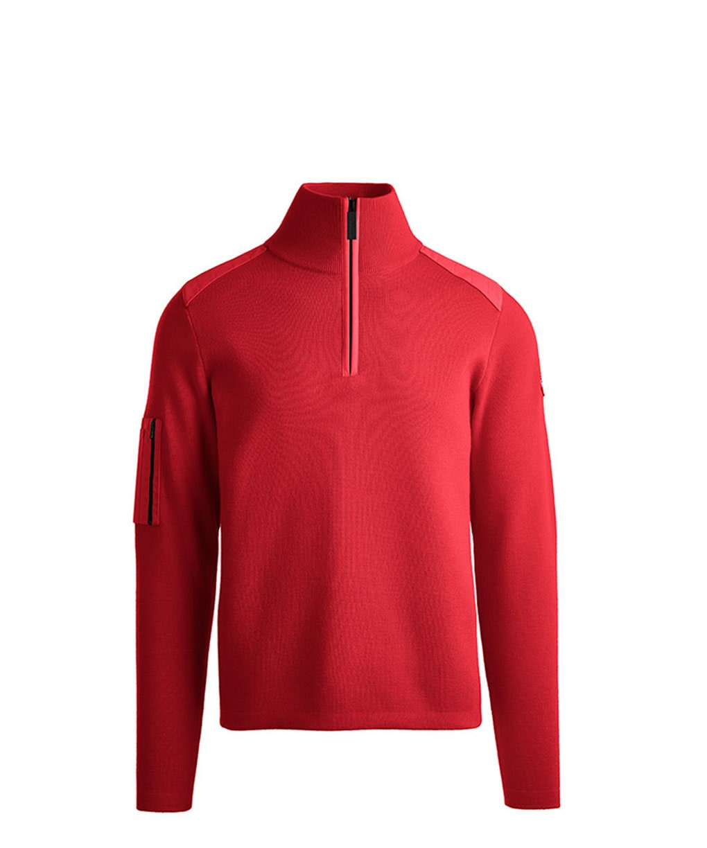 STORMONT 1/4 ZIP SWEATER