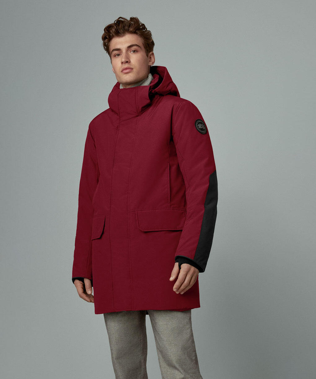 BROCKTON PARKA BLACK LABEL