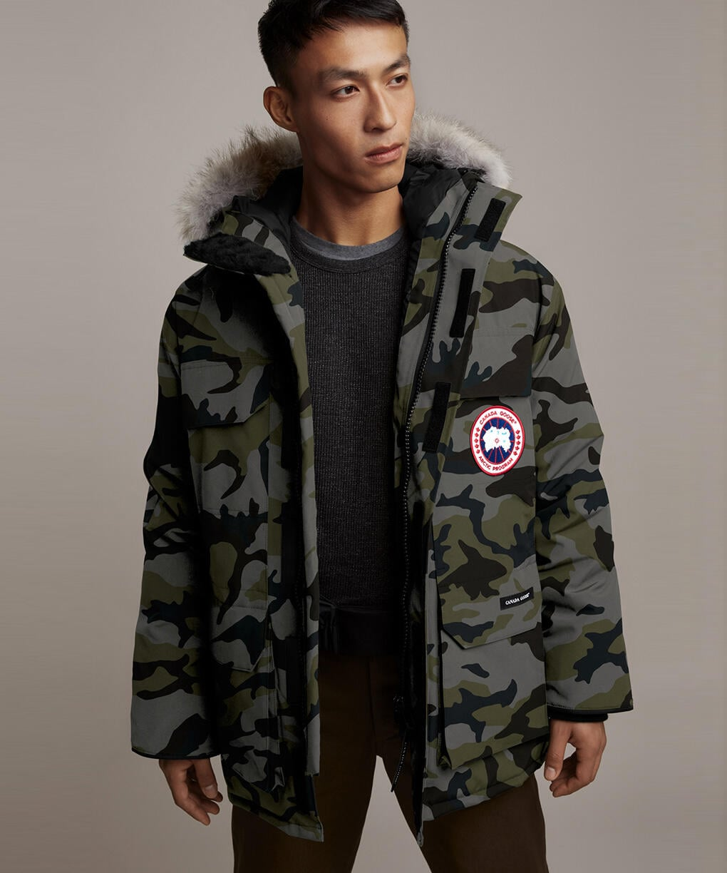 EXPEDITION PARKA FF - PRINT