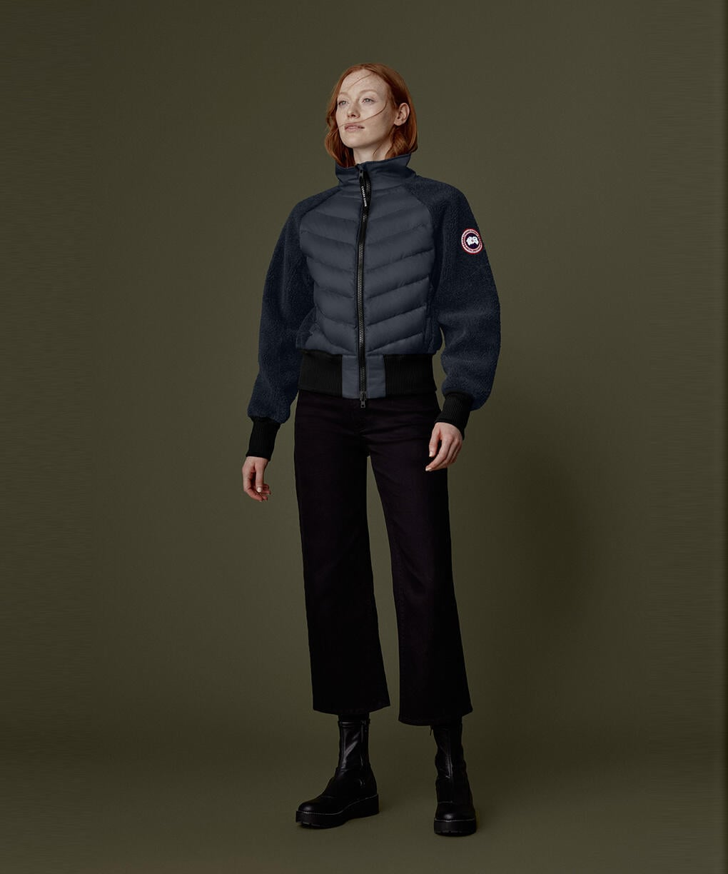 HYBRIDGE FLEECE JACKET